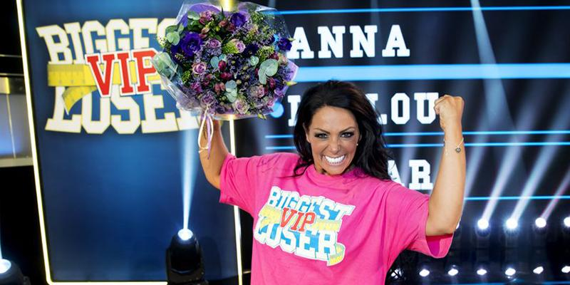 "Anna Book vann ""Biggest Loser VIP"""